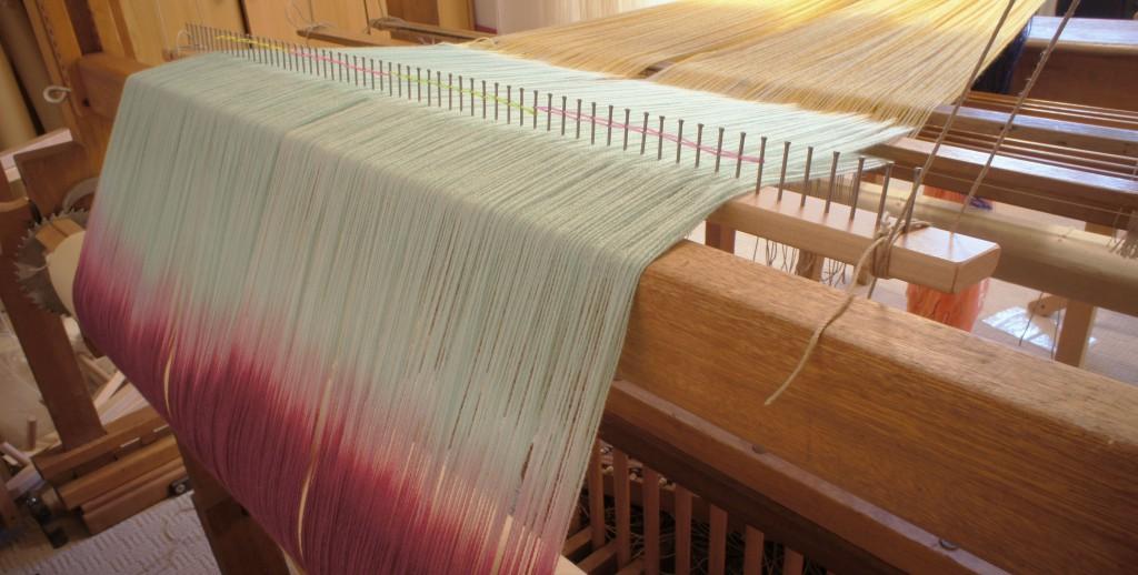 Loom Set Up - Raddle