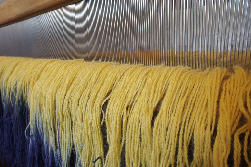 Loom Set Up - Reed