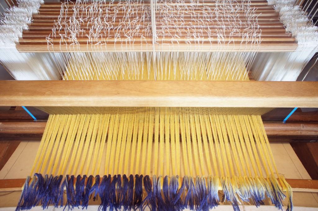 Loom Set Up - Tie On