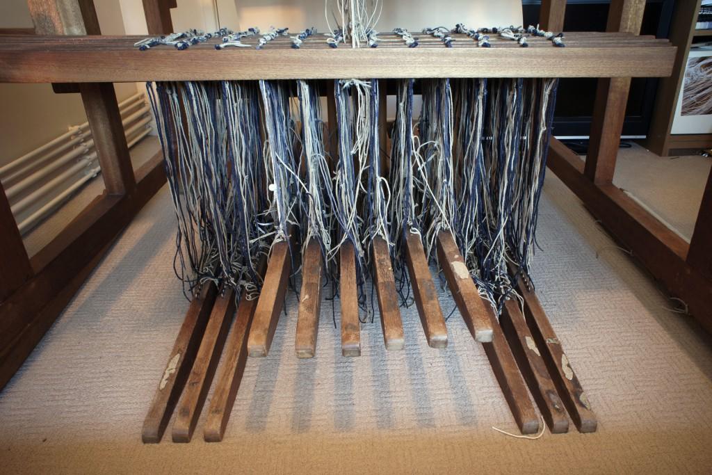 Weaving - treadles